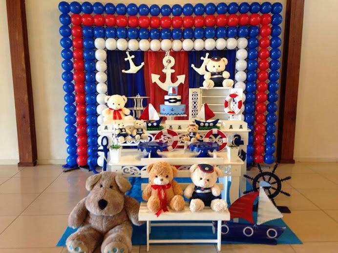 Ursos Marinheiros Provençal com tela de PDS