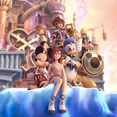 Kingdom Hearts 3D iPad Wallpaper