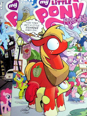 Two of the covers for issue #9 of the MLP:FiM comic