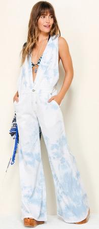 macacão jeans feminino Farm