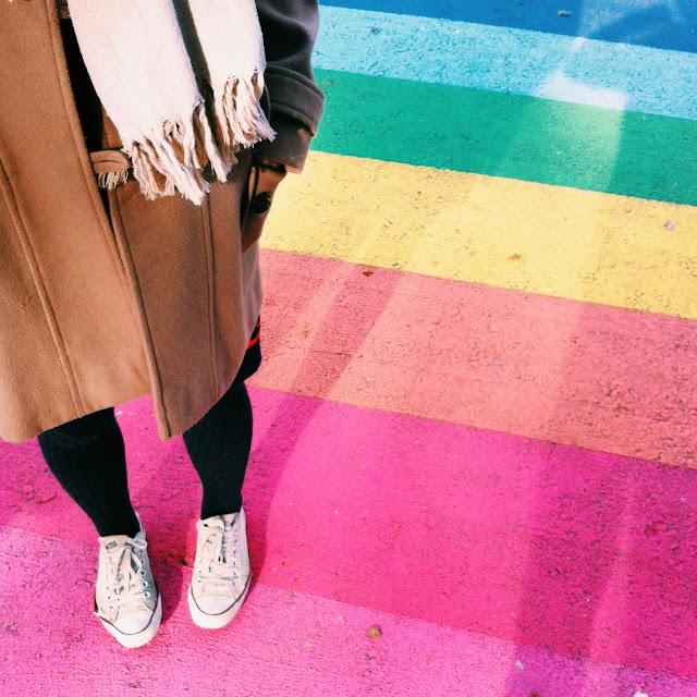 Kitty N. Wong / Rainbow Crosswalk Davie St.