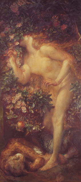 Eve,garden of eden,religious painting
