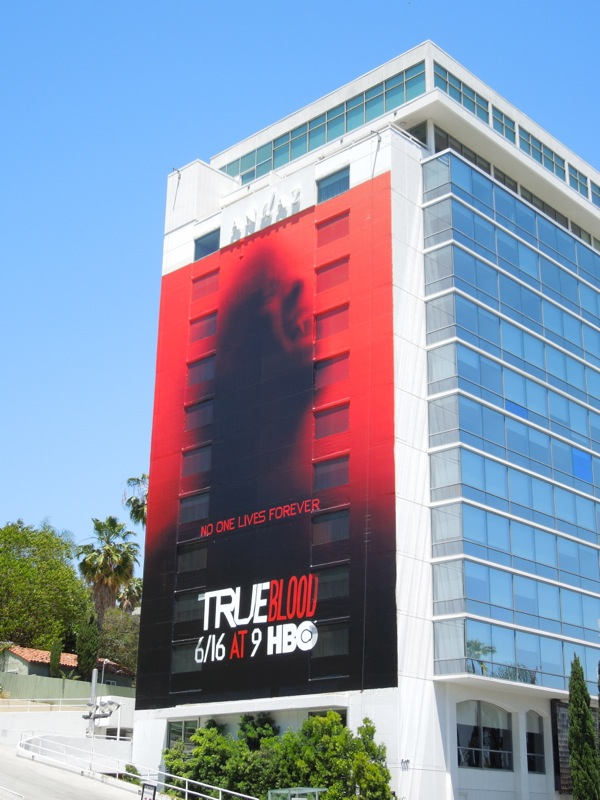 Giant True Blood season 6 billboard