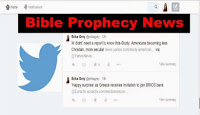 Twitter is a must for Bible Prophecy news