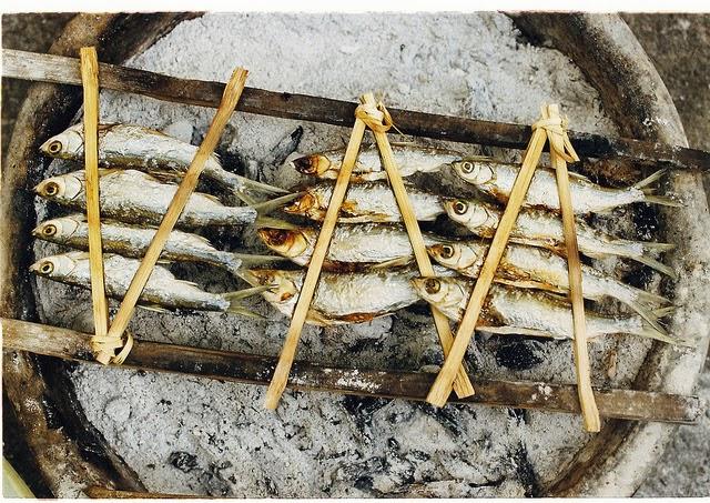 Grilled Sharpbelly in Phú Yên (Cá mương nướng Phú Yên)2