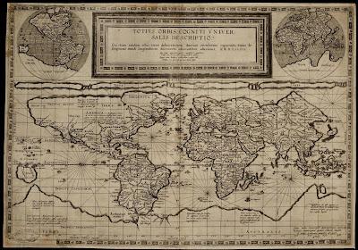 Mapamundi, 1600 x 1118 px, publicado por Gerard de Jode en 1589