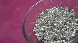 diy craft chan luu bracelet faceted sterling silver nuggets