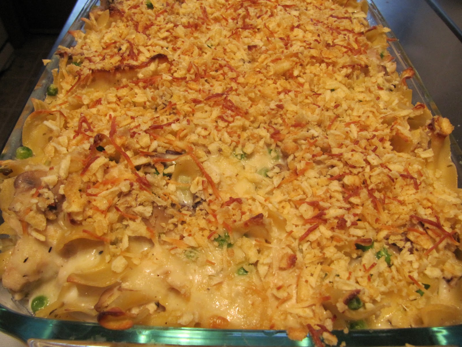 Mama Ozzy's Table: Grown Up Tuna Noodle Casserole