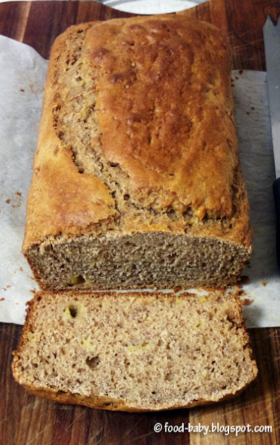 Banana Bread © food-baby.blogspot.com All rights reserved