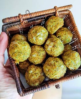 O bolinho de brócolis: saudável, nutritivo e saboroso