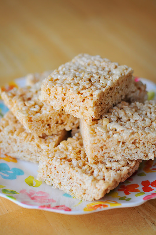 how to make rice krispie bars