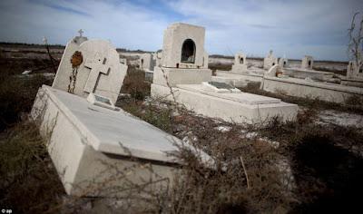 Kota Hantu - Epecuen yang terletak di Argentina