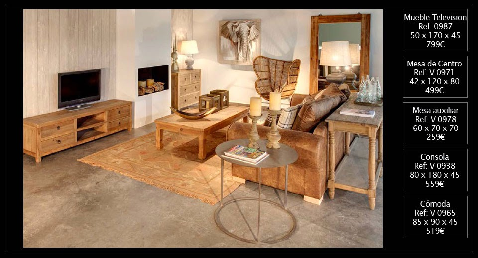 El blog de original house muebles y decoraci n de estilo - Mueble estilo colonial ...