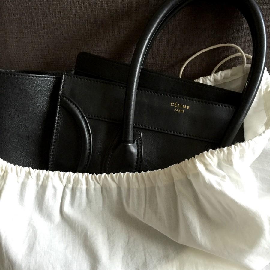 Celine-Mini-Luggage-soft-leather