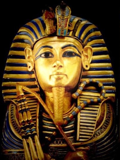 Egyptian death mask template solid gold death mask and