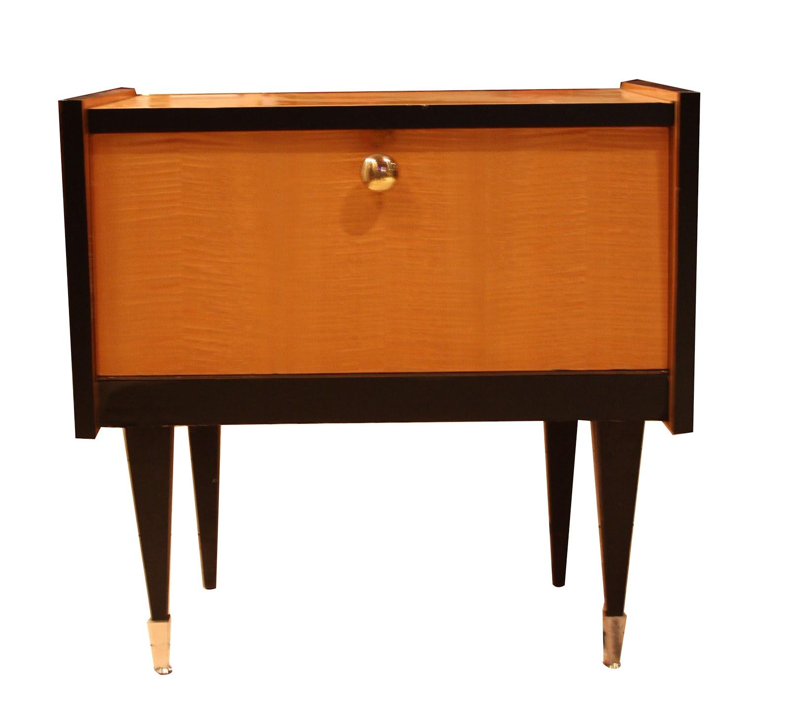 Chicbaazar objets vintage 50 60 70 petit chevet 1950 - Miroir chaty vallauris prix ...