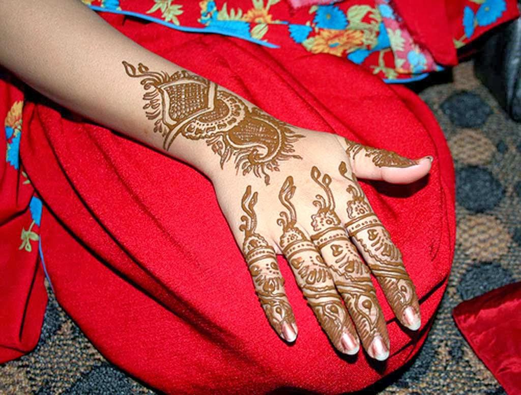 Mehndi Bridal Back Side : Mehndi design back side full hand makedes