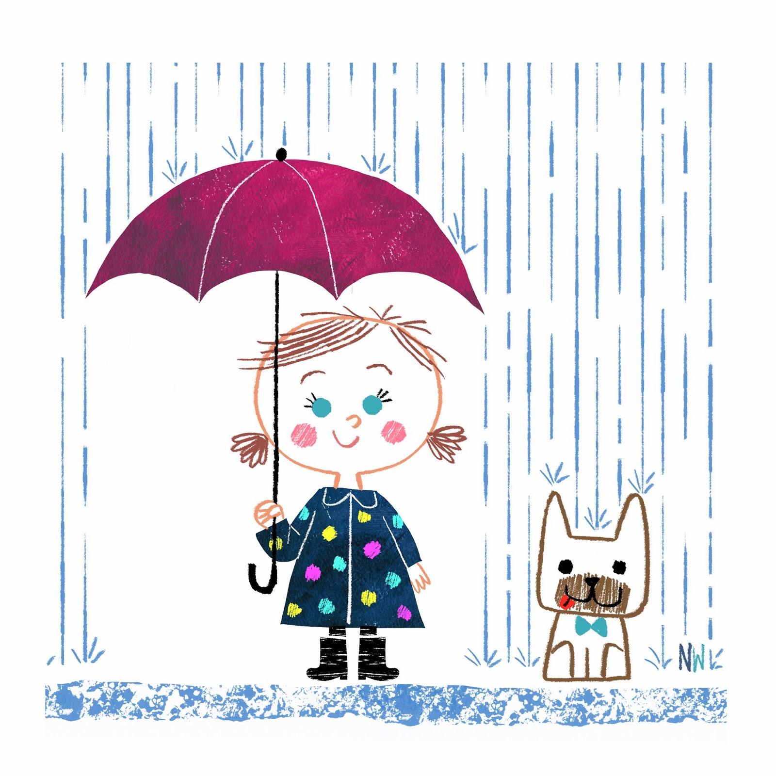 Nate Wragg Art and Illustration: Rainy Day