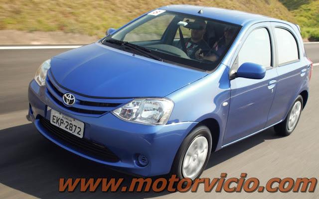 Toyota Etios o mais novo compacto da Toyota
