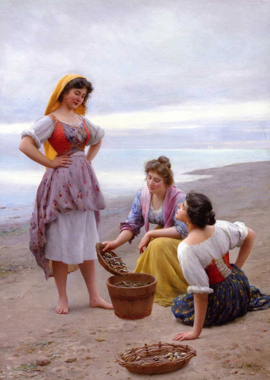 Eugene de  laas The Clam Diggers