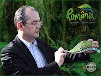 Funny photo Emil Boc Carpathian garden