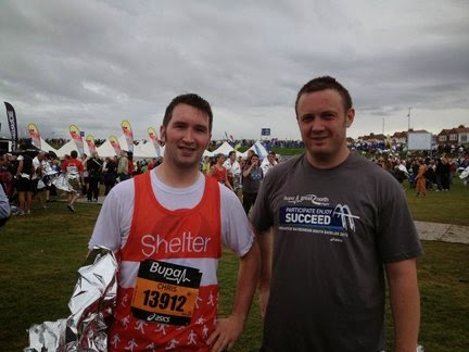 After The Great North Run 2012