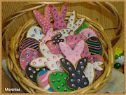 Con estas galletas de Pascua glaseadas, nos tomamos unos días de descanso. galletas de pascua copiar