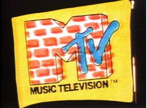 The famous and ever changing MTV logo.