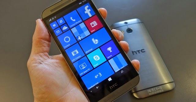 HTC One (M8) chạy Windows Phone chính thức ra mắt
