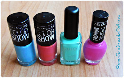 esmaltes uñas colores verano