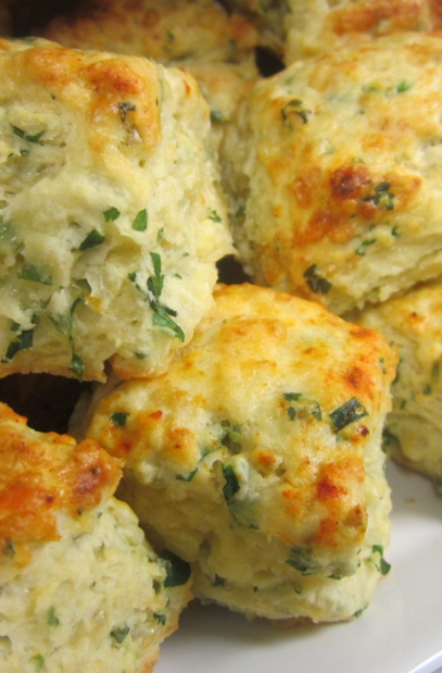 Herb & Cheese Canned Biscuits Recipe