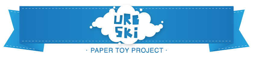 Urb-ski Paper Toys