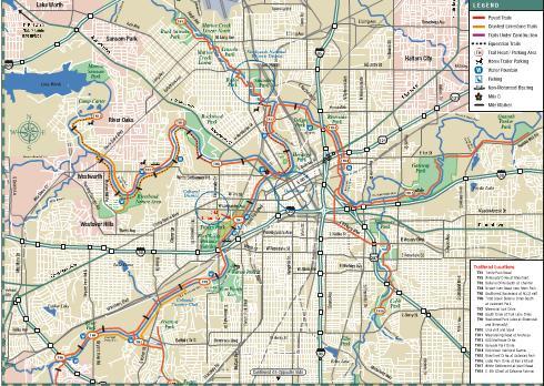 Cozy in Texas: Fort Worth Trinity Trails