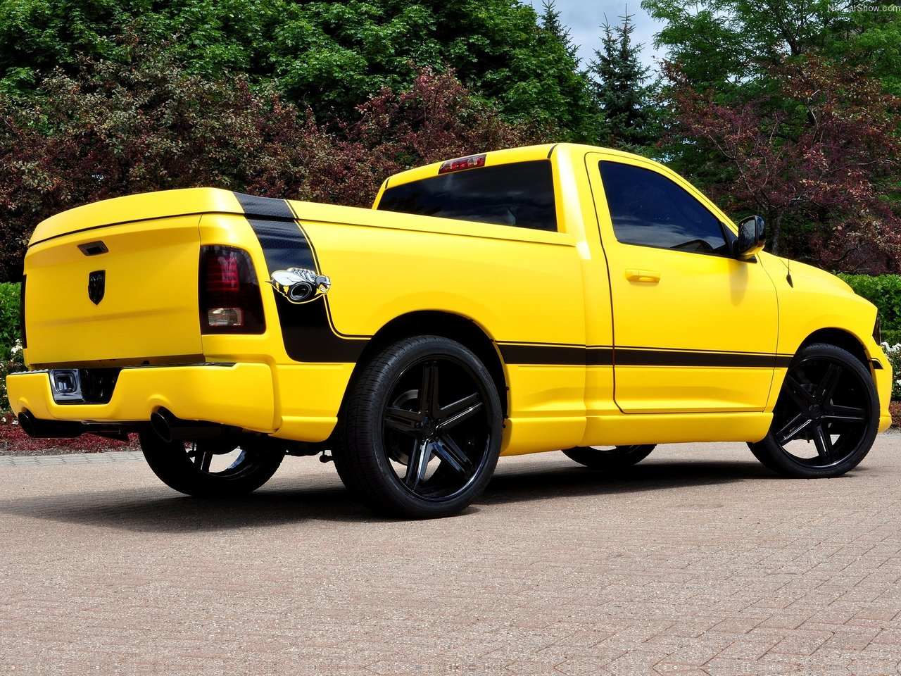 All Cars Nz 2013 Dodge Ram 1500 Rumble Bee Concept