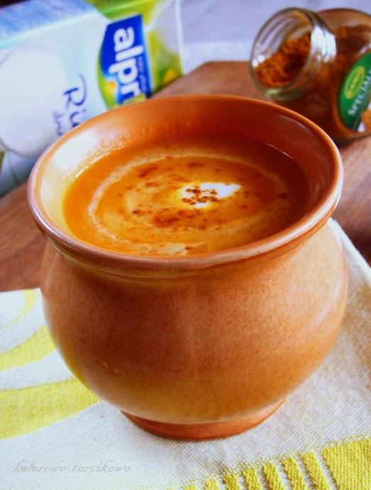 Kremowa zupa z dyni
