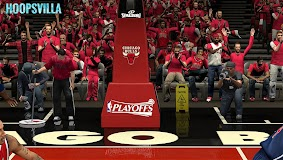 NBA 2k14 Stadium Mod : Playoff Edition - Chicago Bulls - United Center
