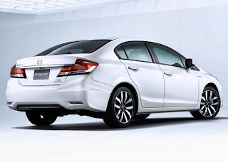2013 Honda Civic back side