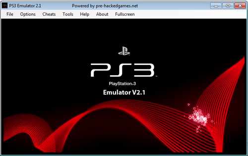 Ps3 emulator with BIOS ISO
