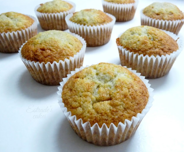 cupcakes de plátano - 2