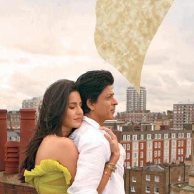 SRK with Katrina kaif in Jab Tak Hain Jaan