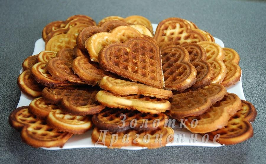 рецепт печенья на вафельнице гриль кубань-4