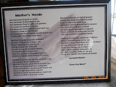 Mother's Hands gift/plaque