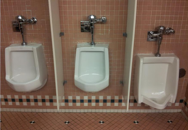 [three+urinal]