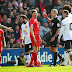 Gerrard made Liverpool's task even harder as he earned a red card just 43 seconds after coming