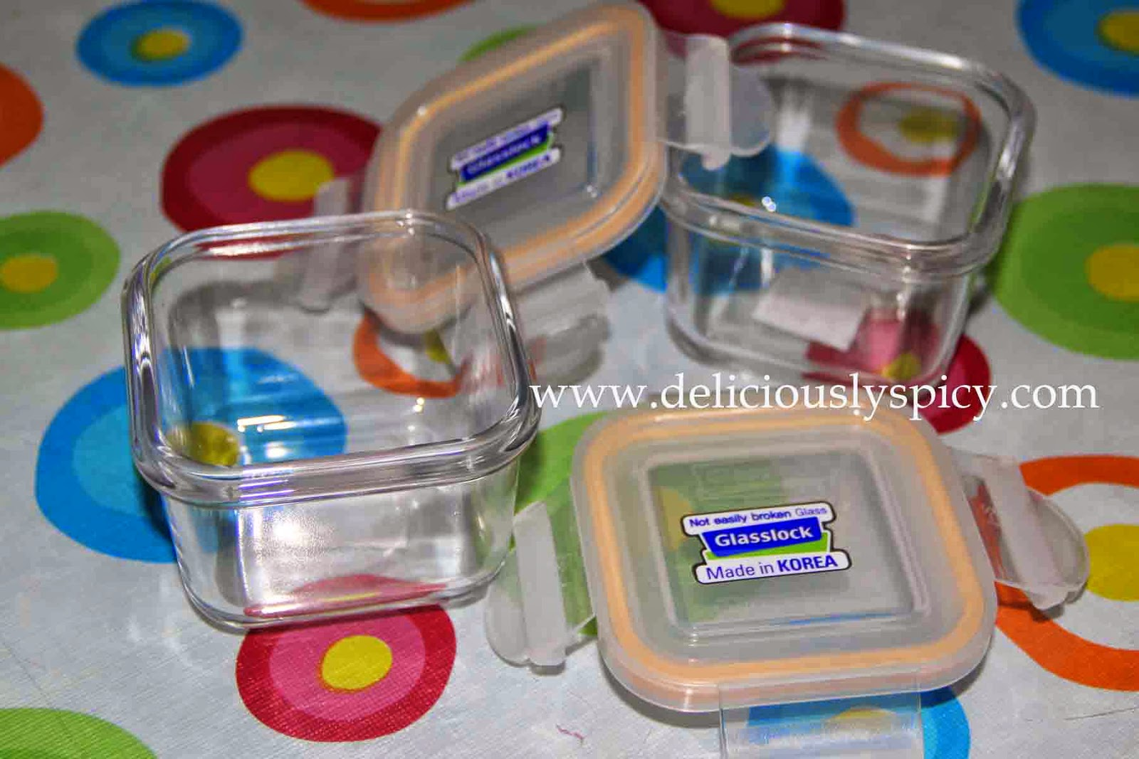 DeliciouslySpicy MOMents Shifting to Glass Baby Food Storage