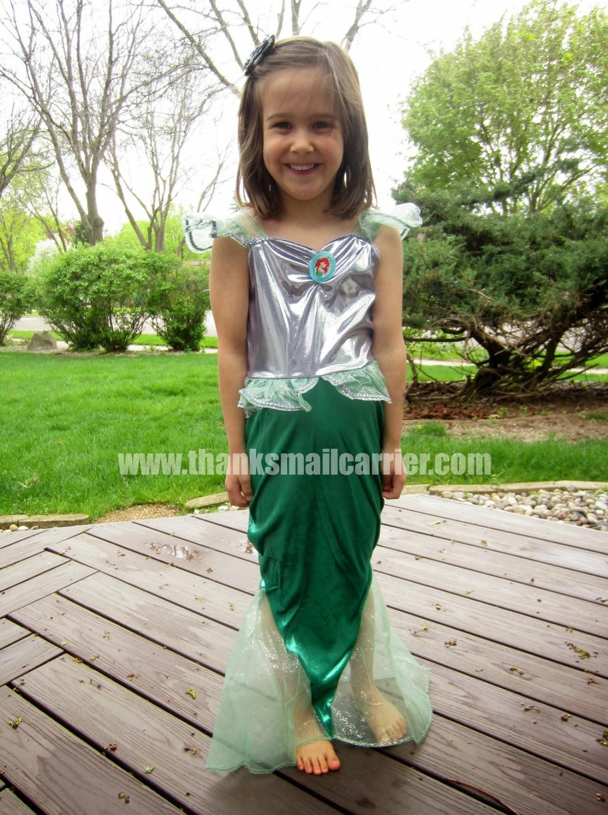 Ariel The Little Mermaid costume