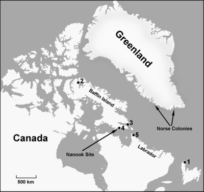 Vikings in Canada centuries before Columbus