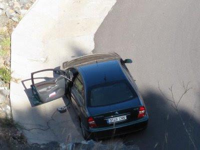atropellado por su propio coche