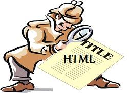 Codigo HTML en los Titulos de las Entradas
