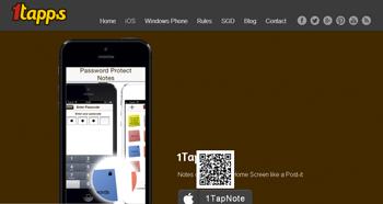Realiza notas con 1TapNote en tu iPhone